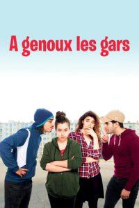 """Affiche du film """"À genoux les gars"""""""
