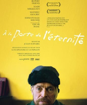 "Affiche du film ""At Eternity's Gate"""