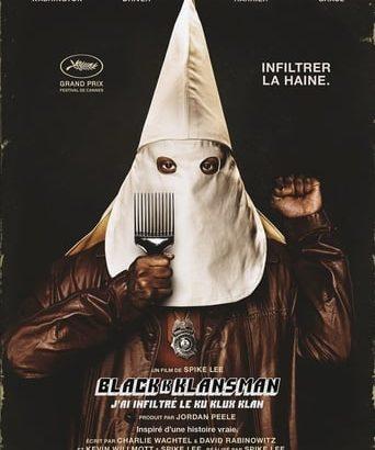 """Affiche du film """"BlacKkKlansman - J'ai infiltré le Ku Klux Klan"""""""