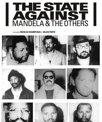 """Affiche du film """"Le procès contre Mandela et les autres"""""""