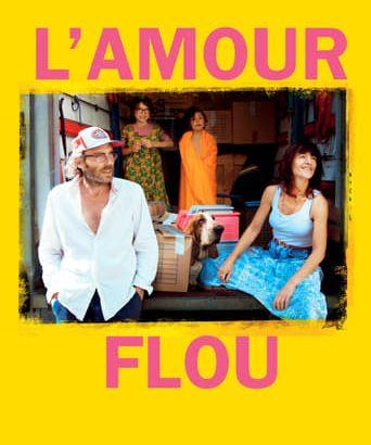 """Affiche du film """"L'Amour flou"""""""