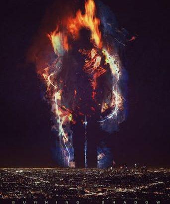 """Affiche du film """"Burning Shadow"""""""