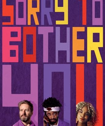 "Affiche du film ""Sorry to Bother You"""