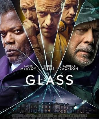 "Affiche du film ""Glass"""